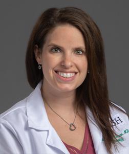 Dr. Rebecca Sarran's professional headshot